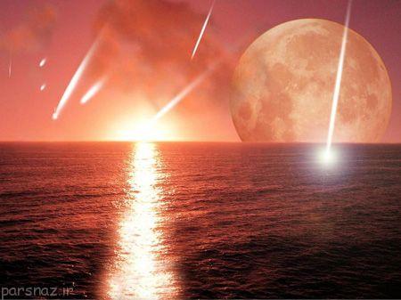 شهاب سنگ ها و پیدایش حیات روی زمین