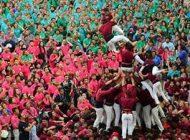 فستیوال جالب برج های انسانی را در اسپانیا