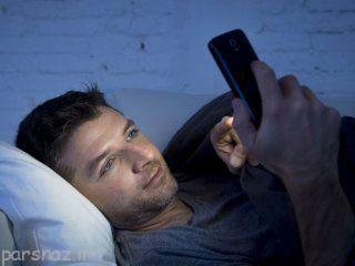 با تلفن همراه به تختخواب نروید مضر است