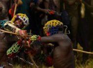 دوئل و مبارزه مردها برای همسریابی در اتیوپی