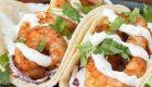 طرز تهیه تاکو میگو غذای مکزیکی