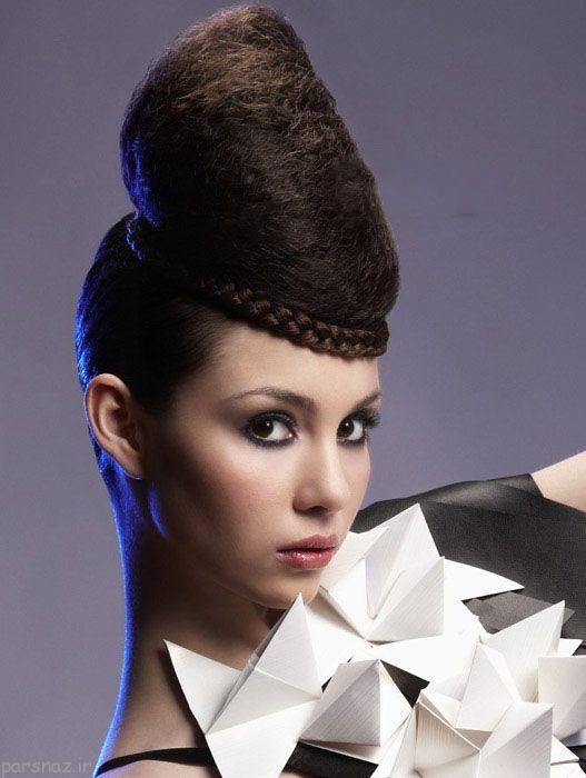 گالری انواع مدل شینیون مو مجلسی و زیبا