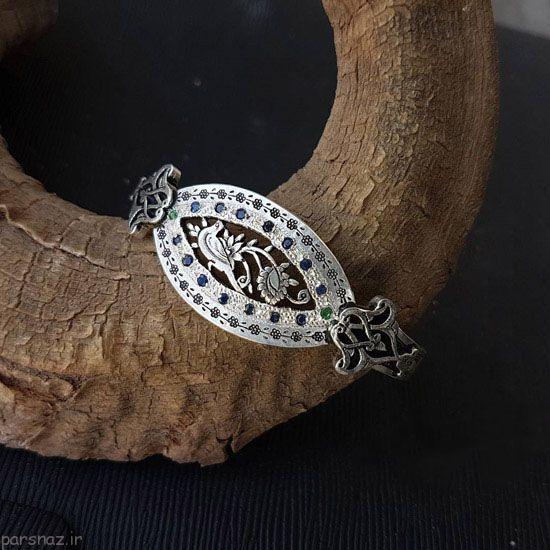 زیورآلات نقره زیبا و جدید از Nima Saei