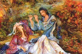 برگزیده شعر عاشقانه لیلی و مجنون