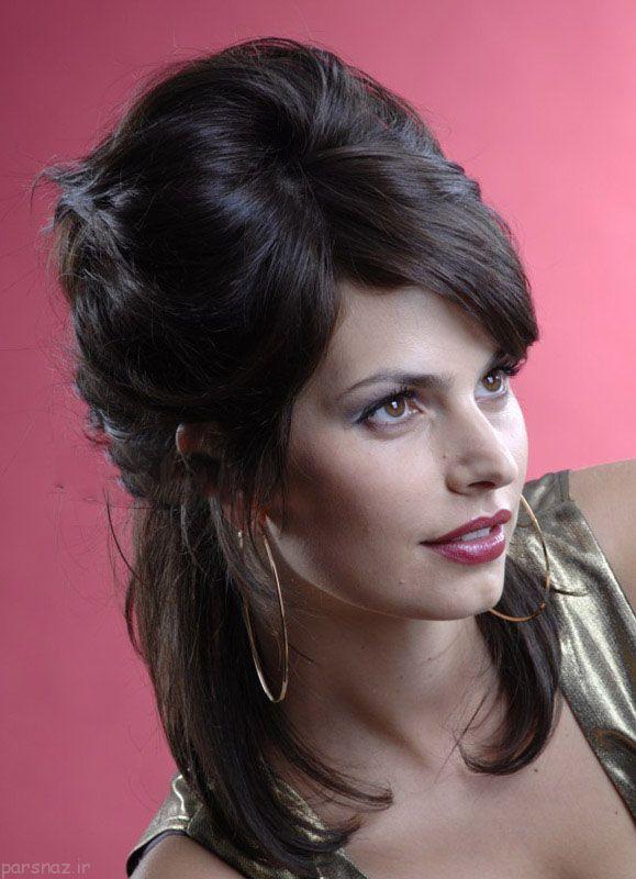 مدل مو زنانه جدید مخصوص مجالس و مهمانی