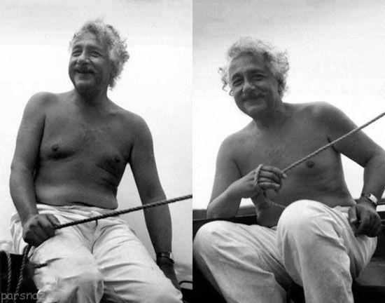 عکس های کمتر دیده شده از اینشتین مغز متفکر
