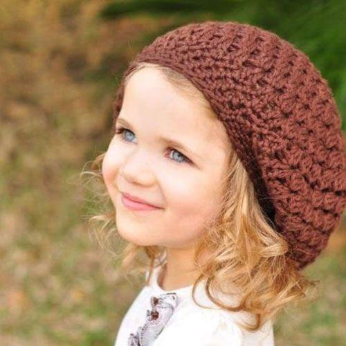 کلکسیون زیبا شال و کلاه بافتنی کودکان