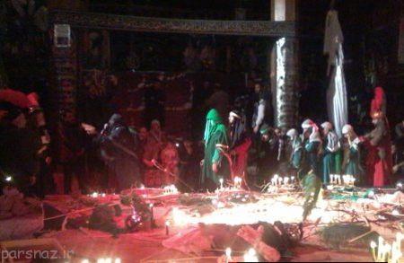 مراسم عزاداری عاشورا و تاسوعا در تفرش