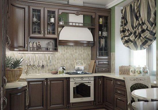 مدل های پرده مخصوص آشپزخانه کدبانو