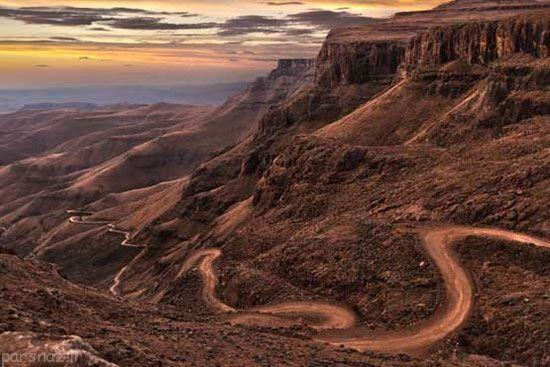 جاده های شگفت انگیز جهان را بشناسید