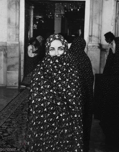 عکسهای الیزابت تیلور زن معروف هالیوودی در ایران