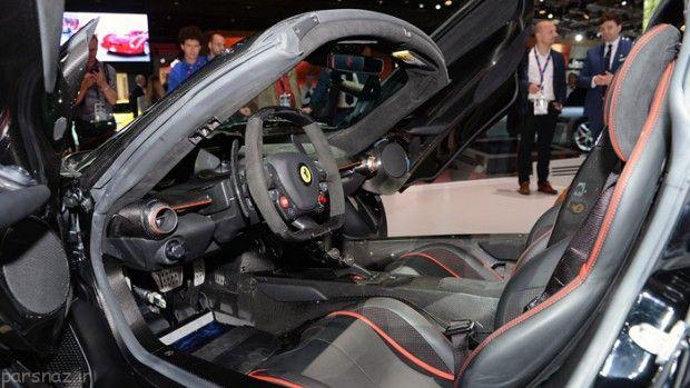 خودروی جدید فراری در نمایشگاه پاریس