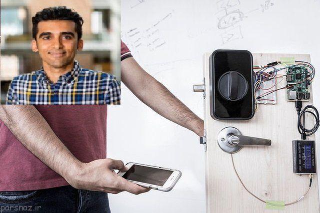 قفل هایی که توسط بدن باز می شوند از مخترع ایرانی