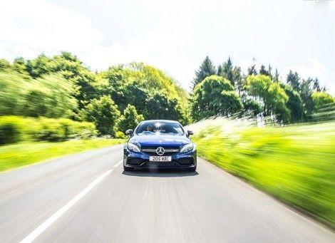 عکسهای ماشین مرسدس بنر کوپه C63 AMG Coupe