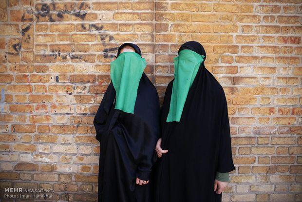 آئین محرم دختران چهل منبری در لرستان