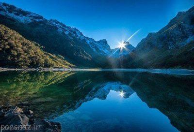 عکس های طبیعت رویایی و زیبای نیوزلند