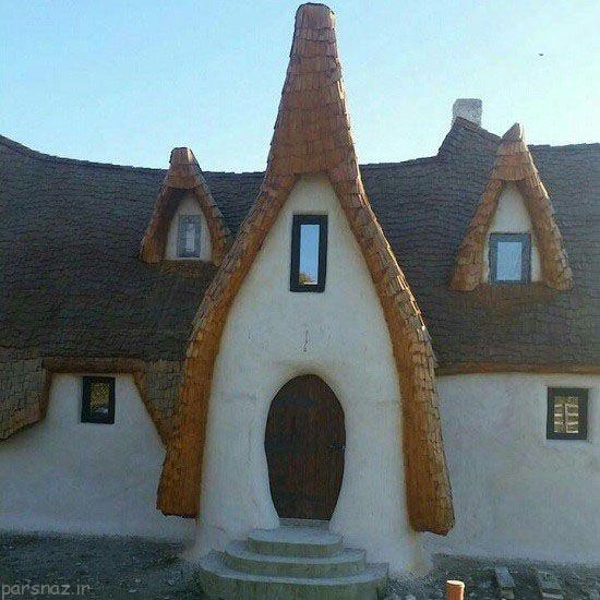 این دومرد قلعه رویایی خود را در واقعیت ساختند