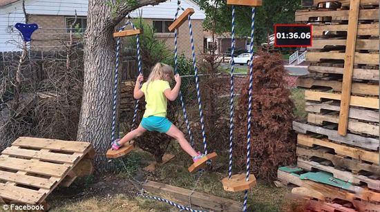 حرکات جالب دختر کوچولوی نینجا را ببینید