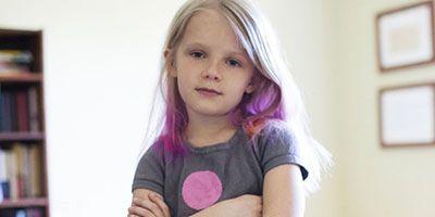 رنگ کردن موی کودکان می تواند مضر باشد