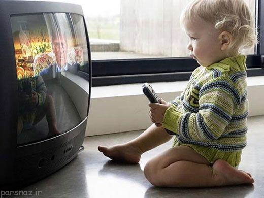 تلویزیون و وسایل دیجیتال و تاثیر روی کودک