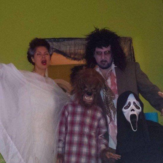 عکس های ترسناک لباس جشن هالوین