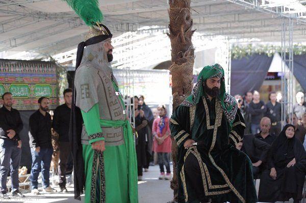 سنت هرساله اجرای تعزیه ماه محرم در بازار تهران