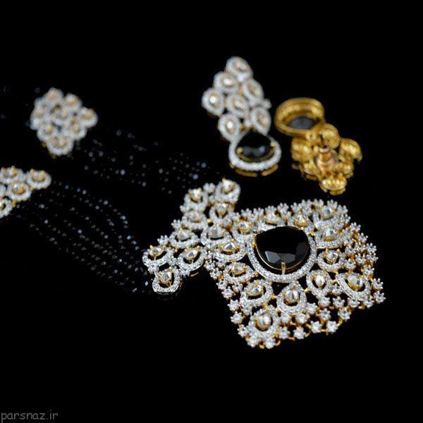 طلا و جواهرات شیک به سبک Americann Diamonds