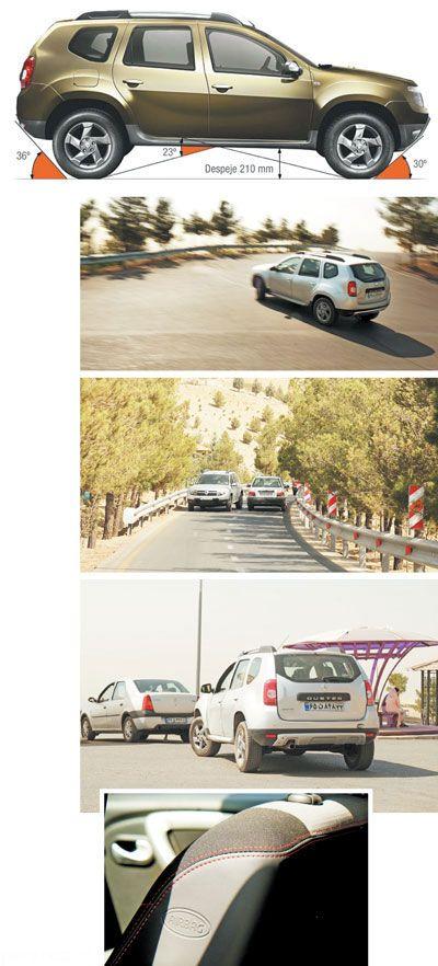بررسی کامل امکانات خودرو رنو داستر
