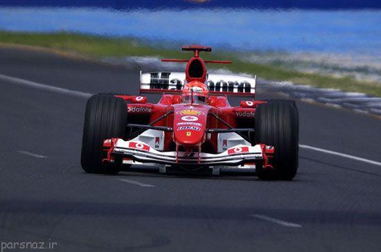 برترین خودروهای فرمول یک مسابقه ای +عکس