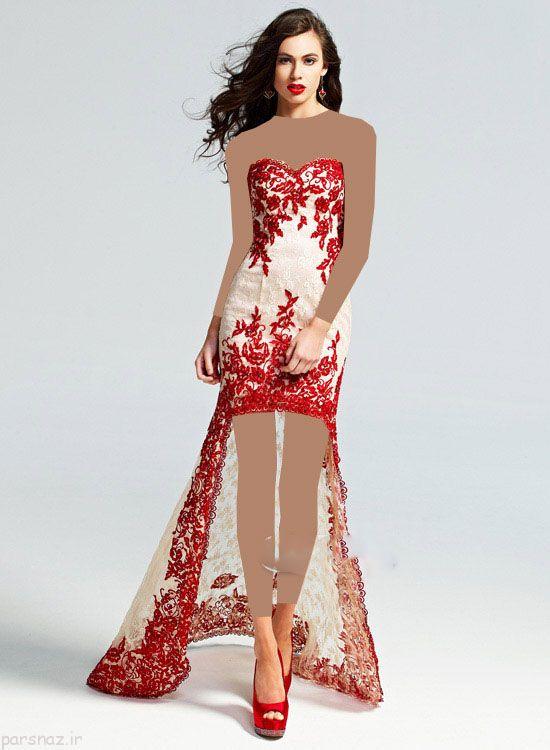 لباس مجلسی زنانه برند Red By Kittychen