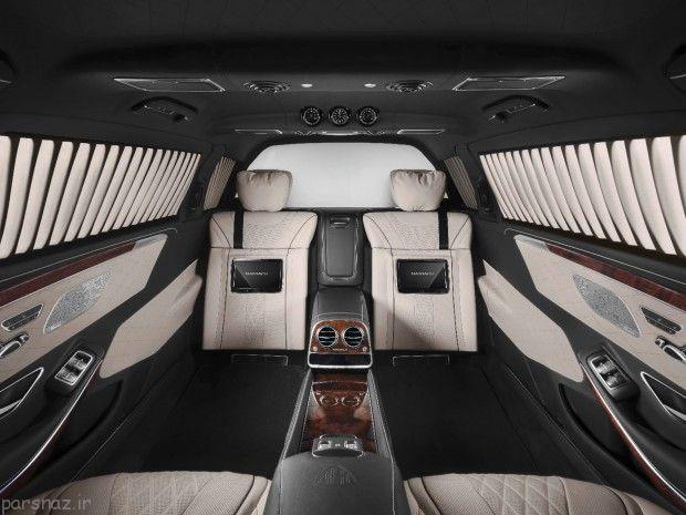 با خودروی S600 بنز آشنا شوید