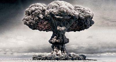 انفجار اتمی را در مقیاس واقعی تصور کنید