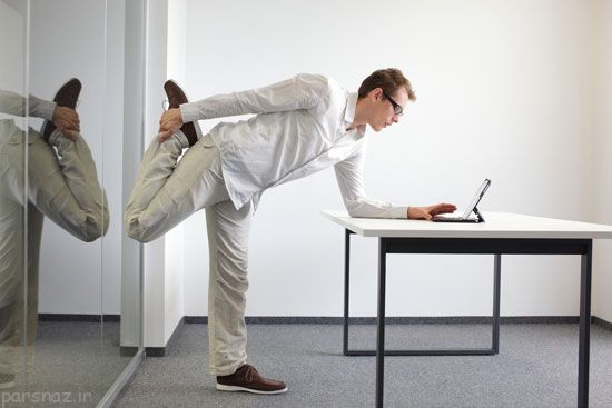 حرکات ورزشی برای پشت میزی ها