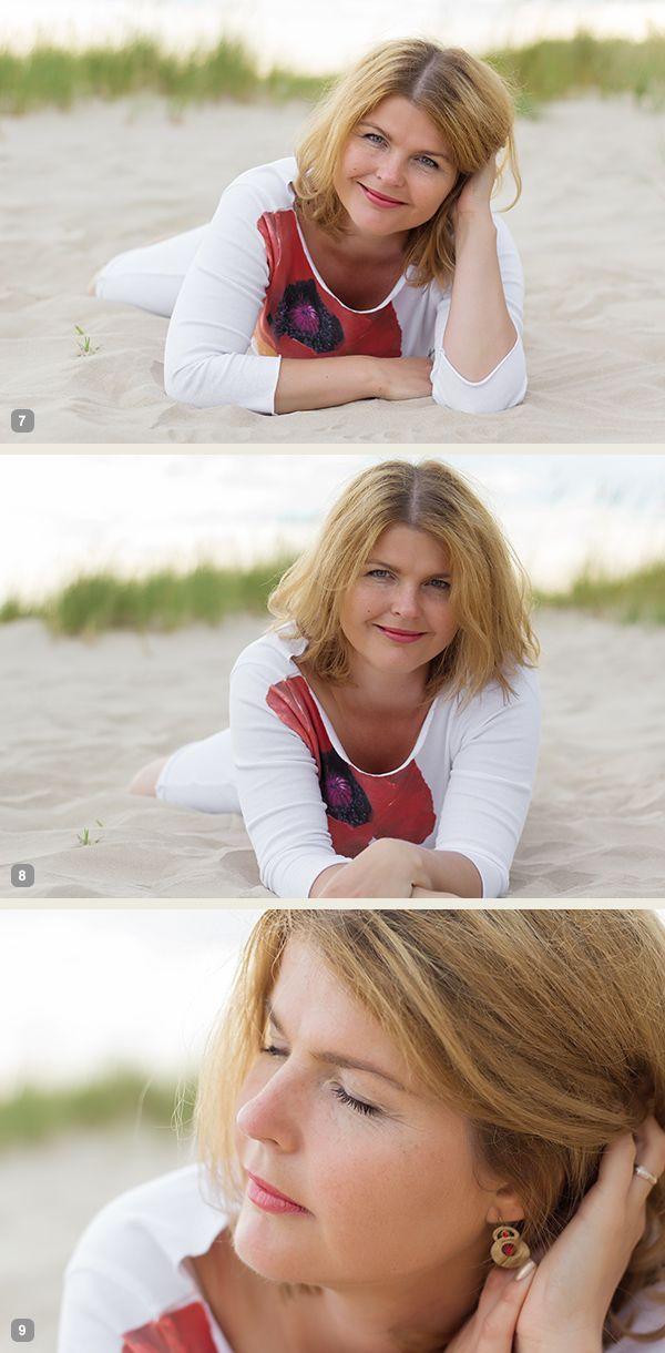آموزش تصویری ژست های عکاسی دخترانه