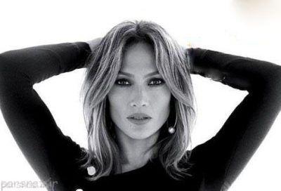 مدل مو جذاب و زیبا به سبک جنیفر لوپز