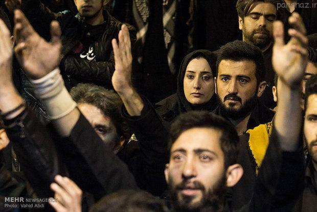 همزمان با تاسوعای حسینی تهران رنگ عزا گرفت
