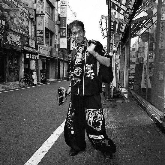 عکسهای شخصیت های عجیب و غریب ژاپنی را ببینید