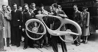 تصور آینده دوچرخه در سال 1946