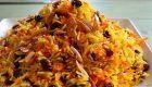 طرز تهیه هویج پلو شیرازی خوشمزه