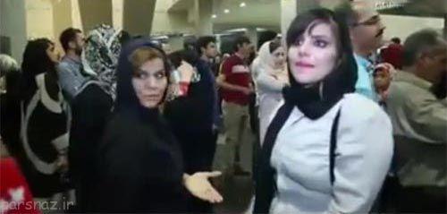 مادر و دختری که علنی از محمدرضا گلزار خواستگاری کردند