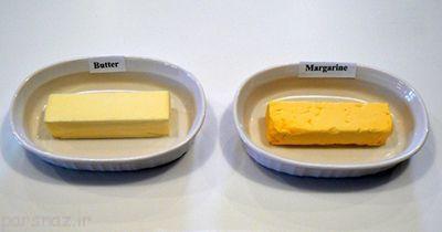 مقایسه تغذیه ای کره حیوانی با مارگارین