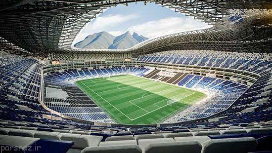 طراحی استادیوم بی نظیر در مکزیک