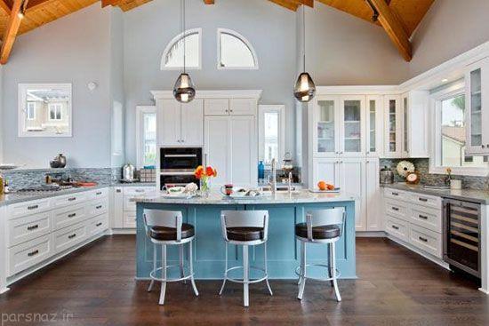 چندین رنگ های مناسب برای آشپزخانه شما
