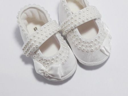 مدل های کفش نوزاد دخترانه زیبا مدل پاپوش