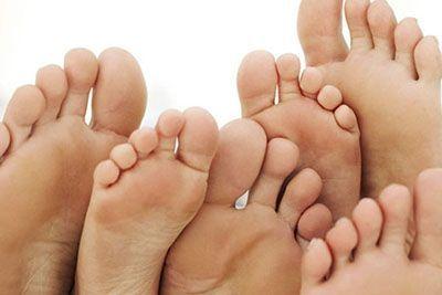 چرا کف پا صاف می شود؟