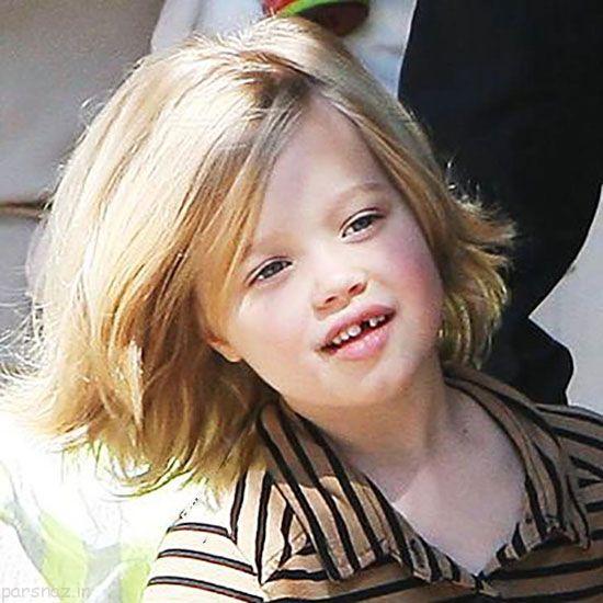 شایلو دختر آنجلینا جولی از گذشته تا امروز