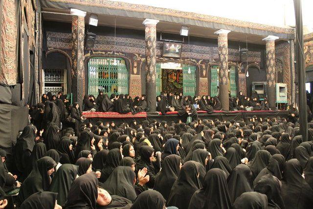 سنت عزاداری زنان قاجاری در این هیئت