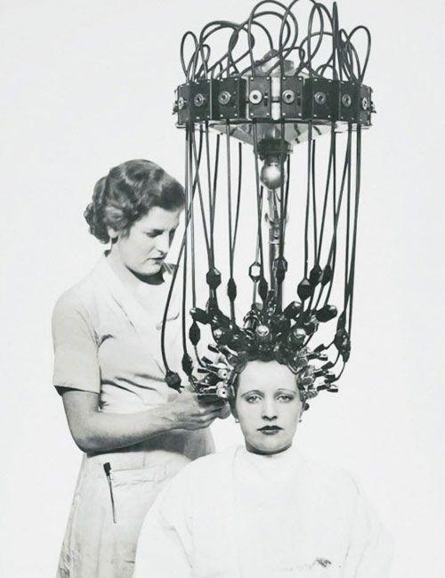 وسایل عجیب برای زیبا شدن در قدیم +عکس