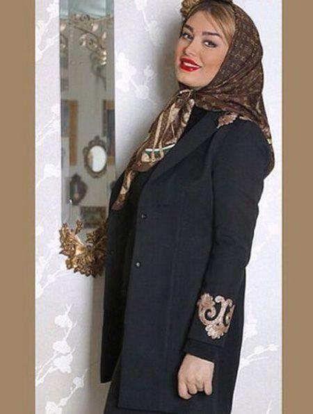 مدل مانتو شیک و زیبا به سبک سحر قریشی