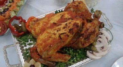 مرغ شکم با دستور پخت گیلانی